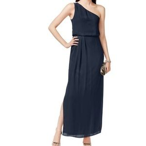 Adrianna Papell one shoulder gown